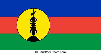 nuova caledonia, bandiera