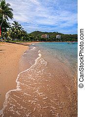 nuova caledonia, spiaggia