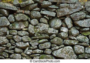 nuova inghilterra, parete, roccia