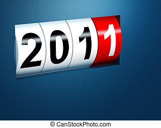 nuovo, 2011, fondo, anno