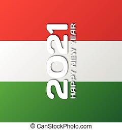 Grafica per il nuovo anno 2021