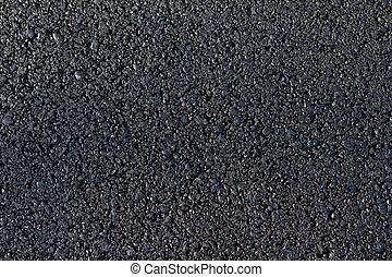 nuovo, asfalto, xx, strada