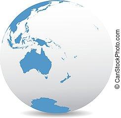 nuovo, australia, zelanda, mondo