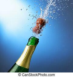nuovo, champagne, anno