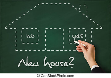 nuovo, comprare, casa