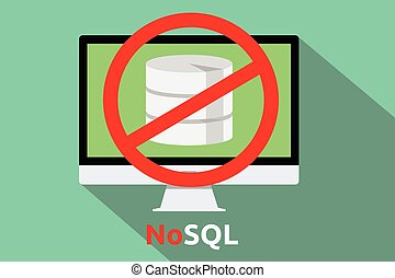 nuovo, concetto, nosql, database