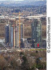 nuovo, costruzione, development., luogo