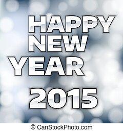 nuovo, felice, anno