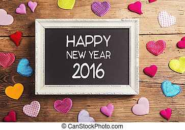 nuovo, felice, composizione, anno