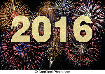 nuovo, firework, 2016, felice, anno
