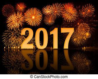 nuovo, fireworks, anno