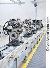 nuovo, manifatturiero, motori