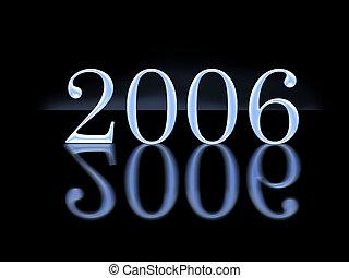 nuovo, marca, 2006, riflessione, anno