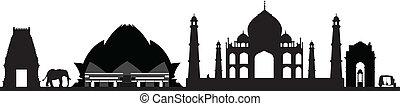 nuovo, orizzonte, delhi, india