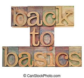 nuovo principi fondamentali, in, letterpress, tipo