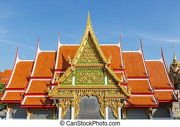nuovo, tempio, tailandia