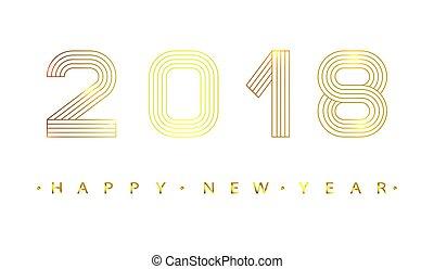 nuovo, year., 2018, felice