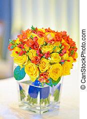 nupcial, flores