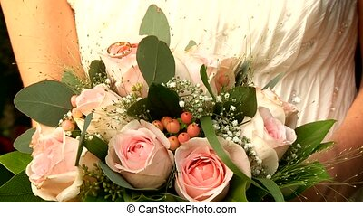 nuptial, fleurs
