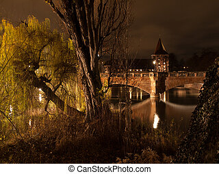 Nuremberg at night