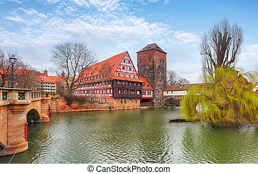 Nuremberg, Germany at day
