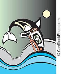 nurkowanie, wieloryb, zabójca