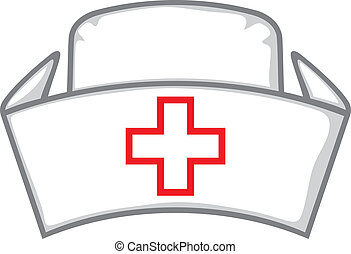 nurse cap, medical white hat, nurse's hat