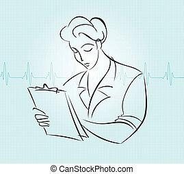 Nurse charting