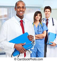 nurse., doutor