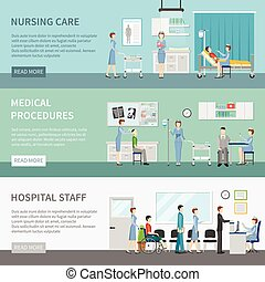 Nurse Health Care Horizontal Banners