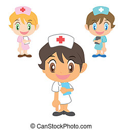 nurse refers to the bottom - cartoon nurse refers to the...