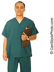 Nurse Standing