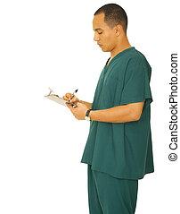 Nurse Writing Report