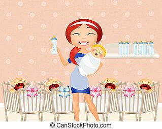 Nursery - illustration of Nursery