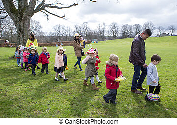 Nursery Easter Egg Hunt