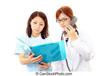 nurses, discussed, doctors