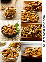Nut Collage