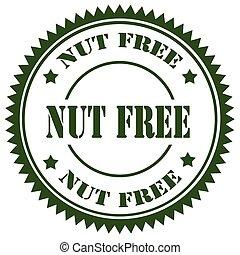 Nut Free-stamp