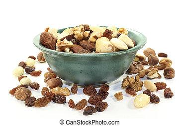 nut-fruit, mélange