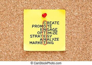 nuta, pojęcie, handel, strategia, zadowolenie, krzyżówka, lepki