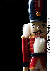 Nutcracker at Attention