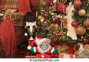 Nutcracker, Christmas Scene - Nutcracker and Christmas ...