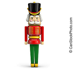 Nutcracker Christmas soldier symbol