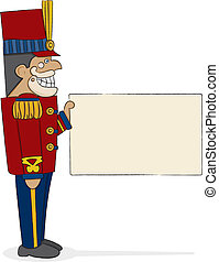 Nutcracker General - A traditional military-style nutcracker...