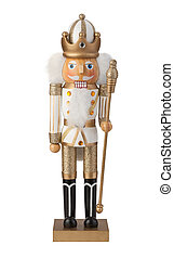Nutcracker Isolated with clipping path