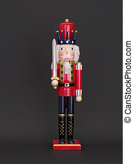 Nutcracker One - Toy christmas nutcracker