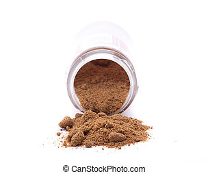 nutmeg powder - spices are essential for some meals, each ...