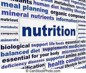 nutrição, saudável, estilo vida