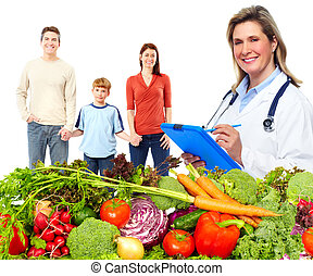 nutricionista, family., doctor