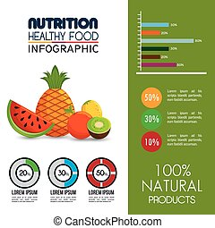 nutrition food infographic icons